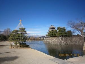 松本城と南アルプス28.1 (14)