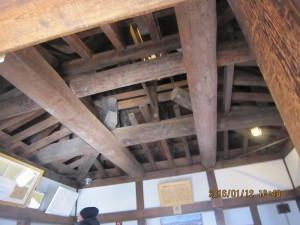 松本城28.1 (小屋組の技術)