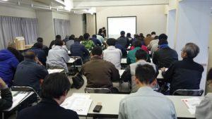 (中津川産直住宅振興会に向けての研修会ですが、講師は我々のメンバーである付知の原さんが務めてくれました)