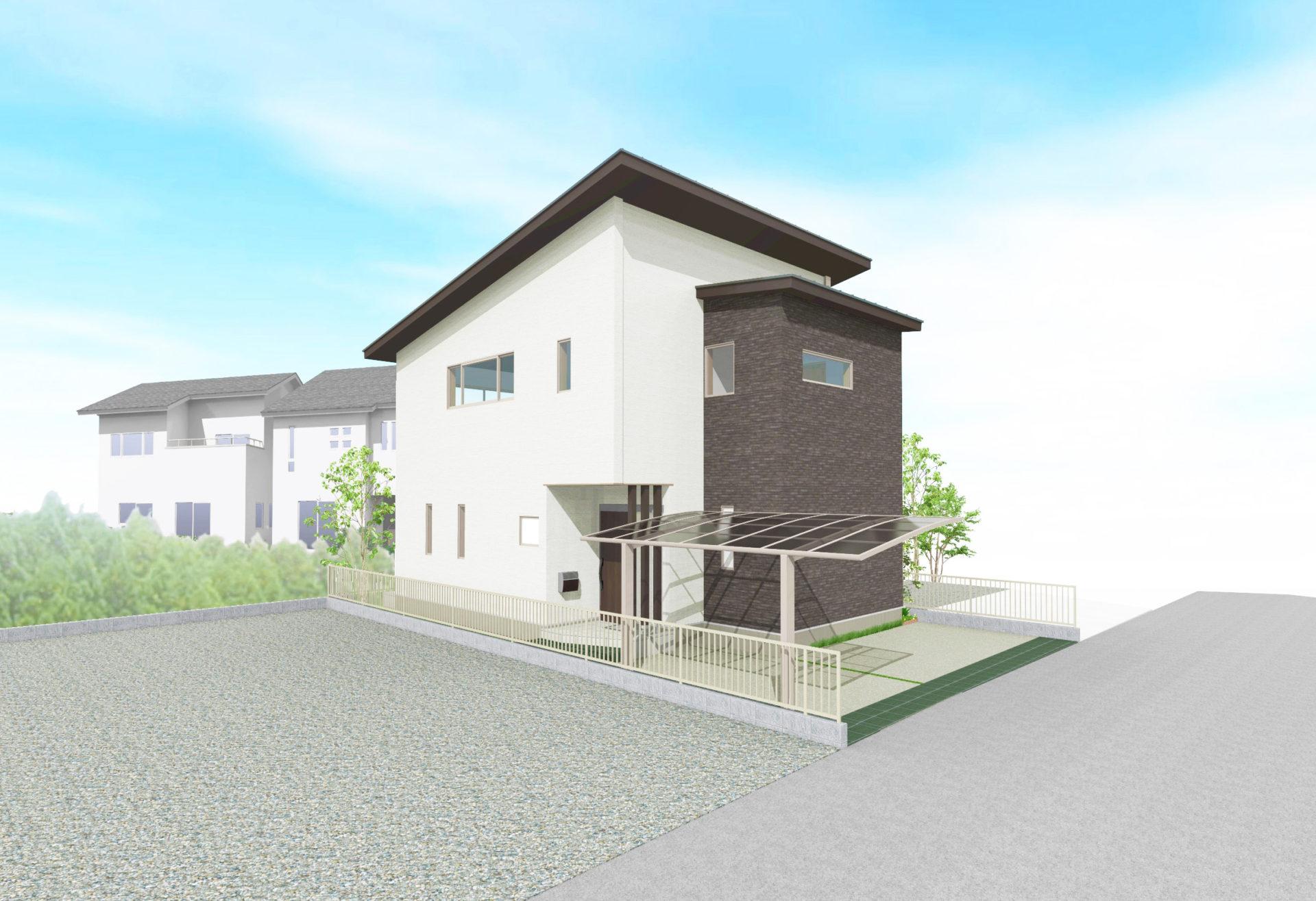 完成見学会 木の家